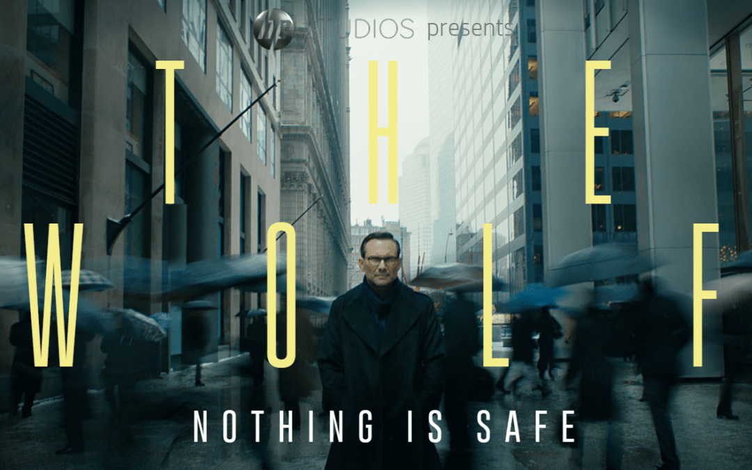 HP reinvents security with new global campaignstarring Christian Slater