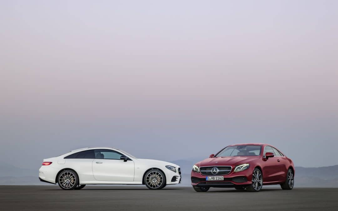 Mercedes-Benz launches stylish and sporty new E-Class Coupé