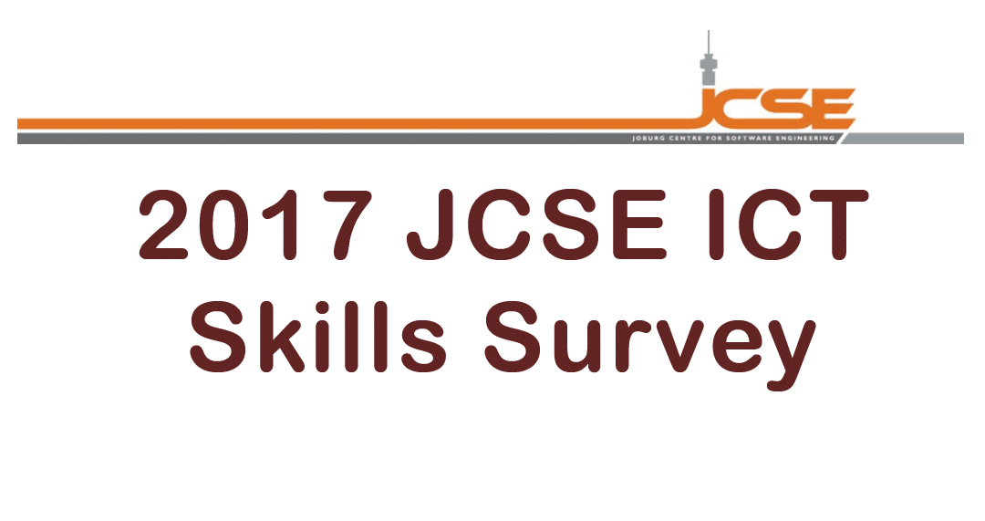 The 2017 JCSE ICT Skills Survey calls for more rapid transformation and empowerment as well as recognition of the ICT sector's value as an economic contributor