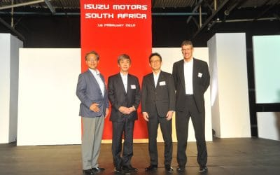 Isuzu Motors South Africa is officially launched