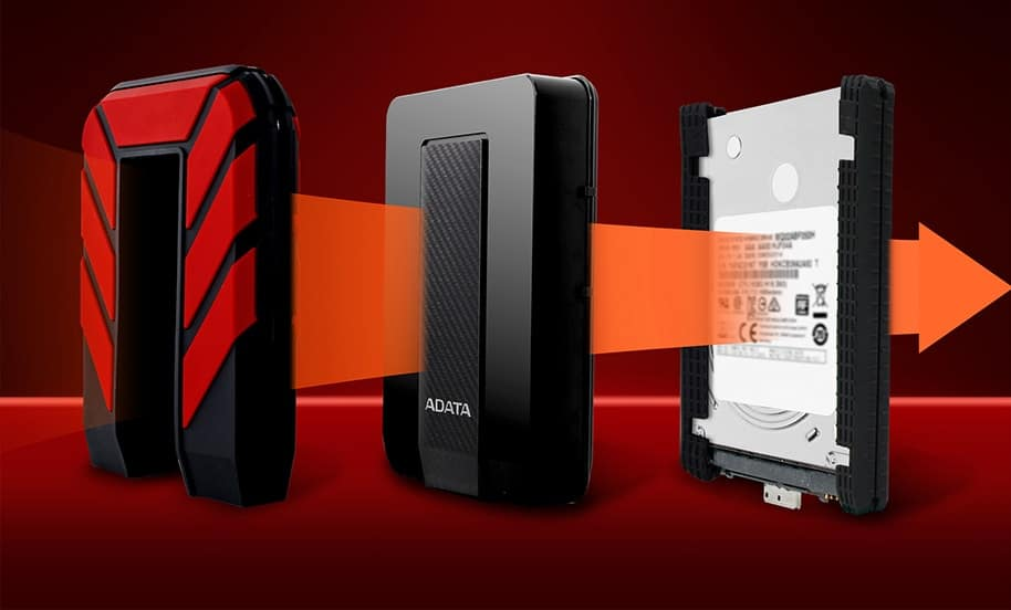 ADATA, HD710P, external storage, portable storage, HDD, smetechguru