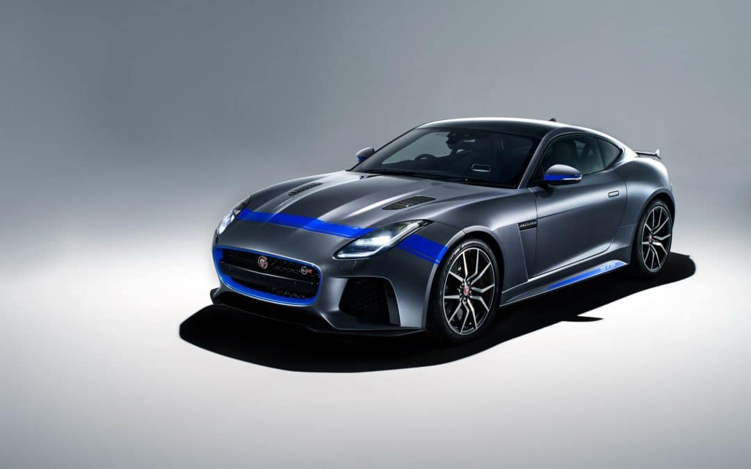 NEW GRAPHIC PACK ADDS VISUAL MUSCLE TO JAGUAR F-TYPE SVR SUPERCAR