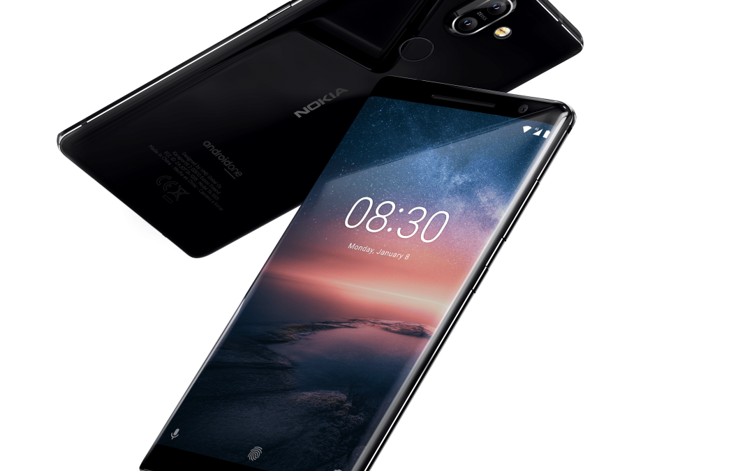 Nokia 8 Sirocco blends premium craftsmanship and latest innovation with Android 9 Pie upgrade
