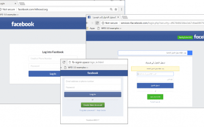 Fake Facebook sites account for 60% of social network phishing in early 2018