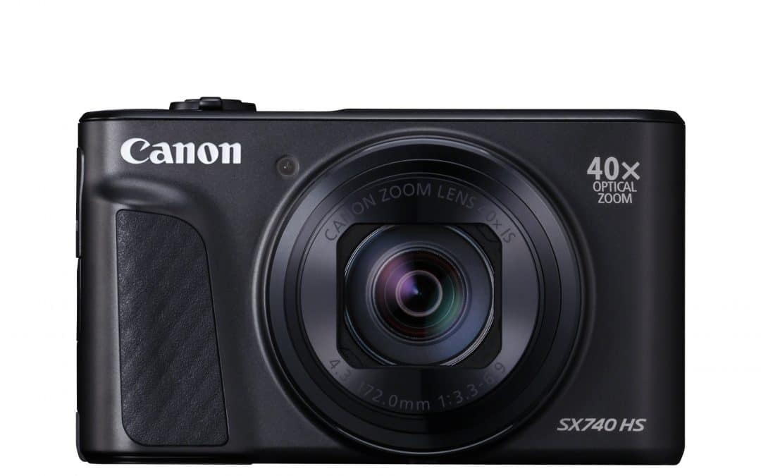Get closer to your travel adventure with Canon's new PowerShot SX740 HS with powerful 40x travel superzoom