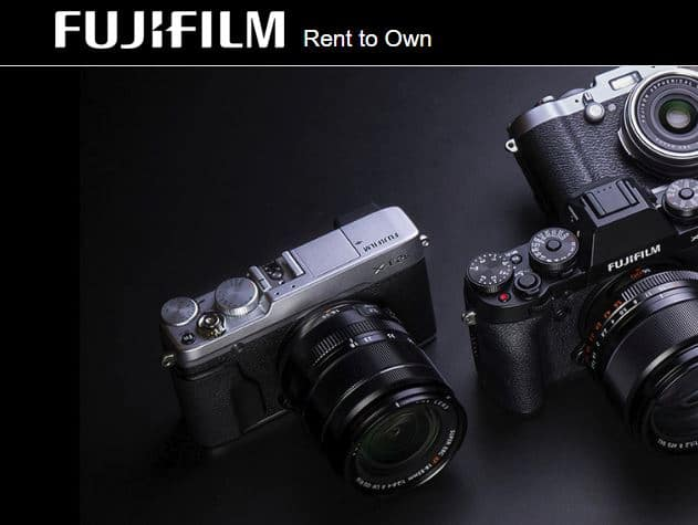 Fujifilm Rent-to-Own makes owning a camera easier
