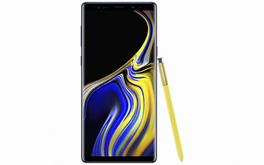 Samsung Unveils the Galaxy Note 9