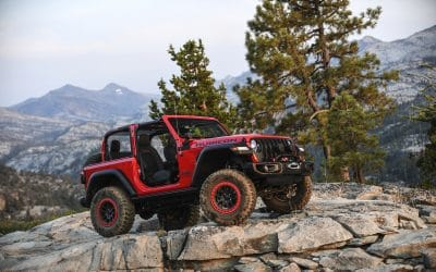 All-New Jeep Wrangler Rubicon put to The Test on the Legendary Rubicon Trail