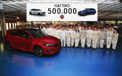 Fiat Tipo reaches the 500,000 units milestone