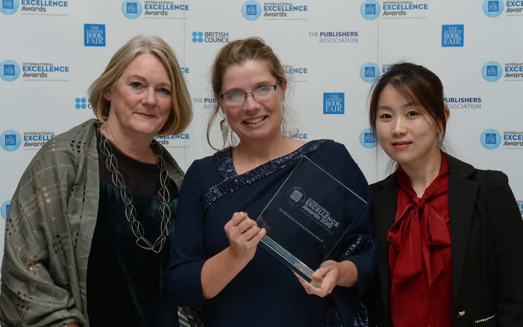 Home Grown Online Reading Programme Wins at the London Book Fair International Excellence Awards