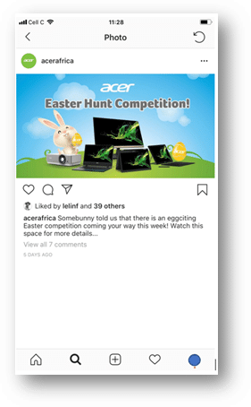 Easter with ShopAcer