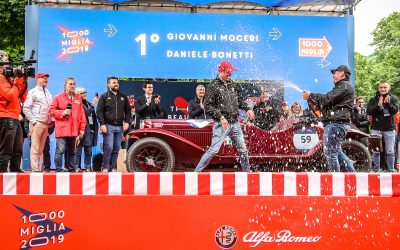 Alfa Romeo triumphs at the 1000 Miglia 2019: 1st and 2nd