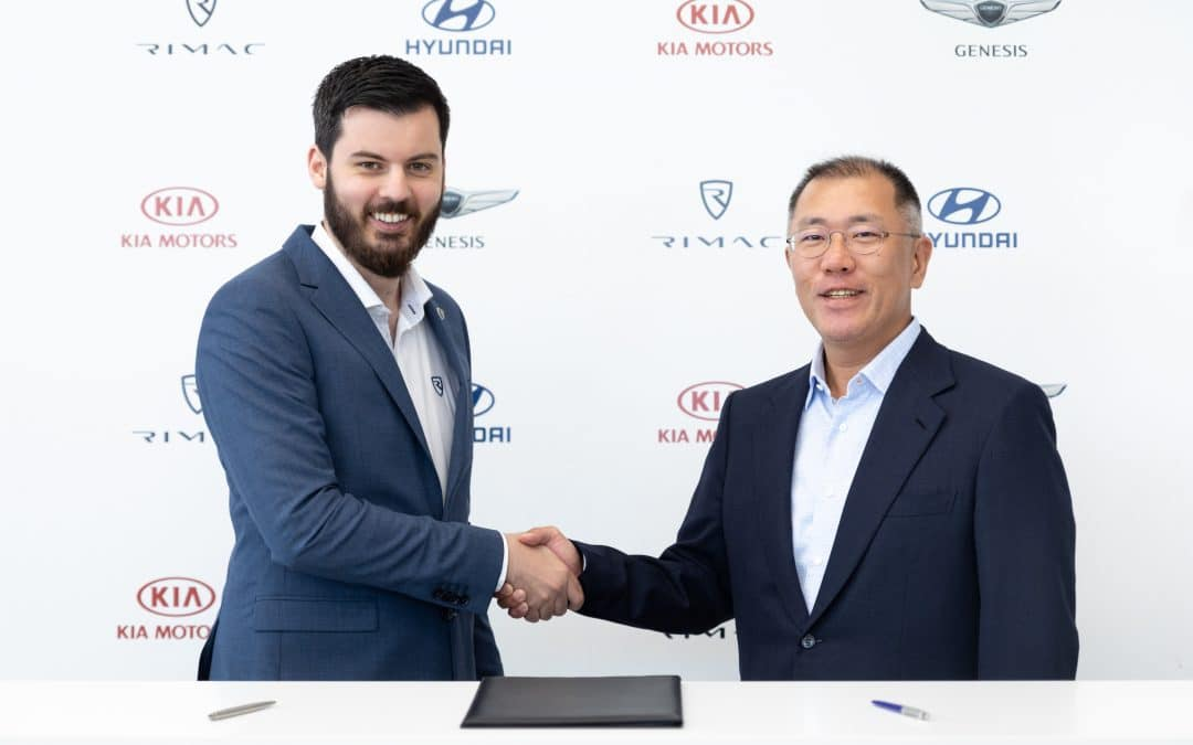 KIA announces partnership with Rimac to accelerate the development of high-performance EVs