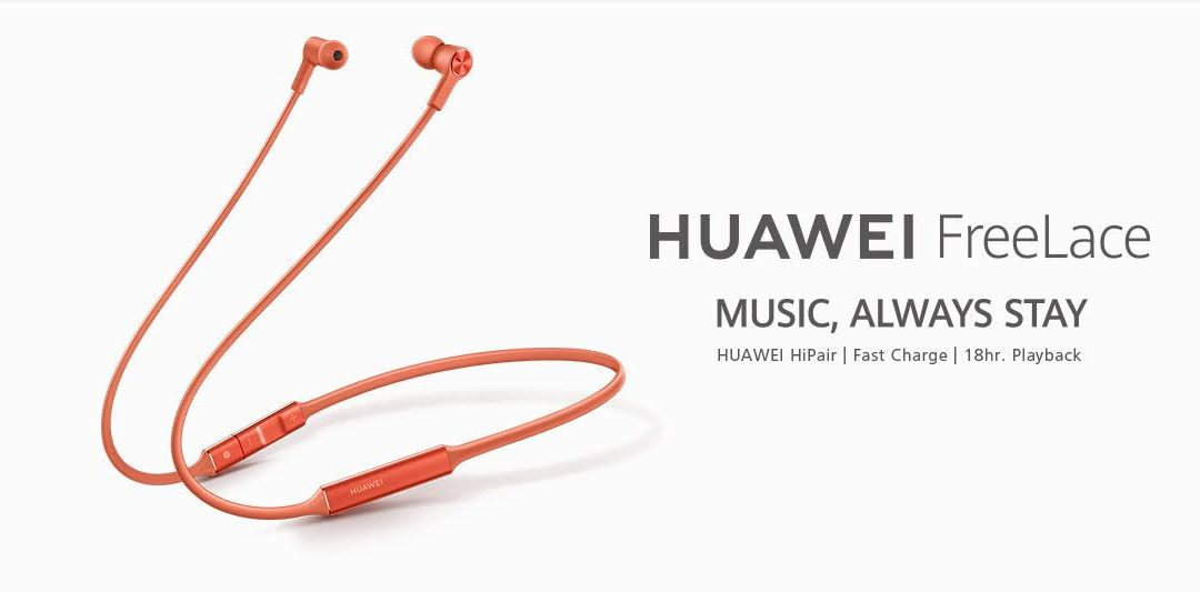 Introducing HUAWEI FreeLace: Wireless Earphones Evolved