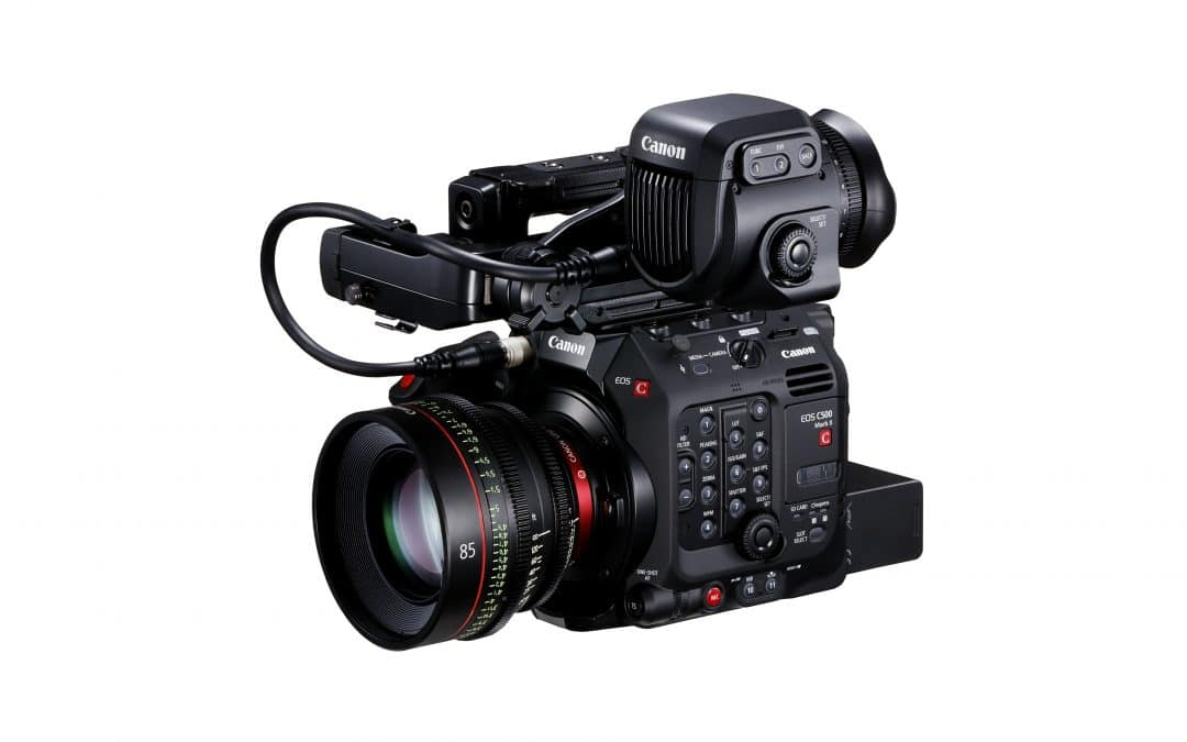 Canon launches the EOS C500 Mark II – a compact and versatile 5.9K Full Frame next generation Cinema EOS System camera