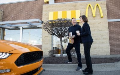 Double Shot of Sustainability: Ford and McDonald's Collaborate to Convert Coffee Bean Skin into Car Parts