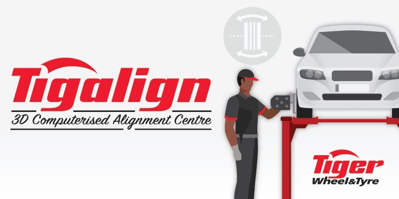 When it comes to wheel alignment, why align when you can 'Tigalign'?