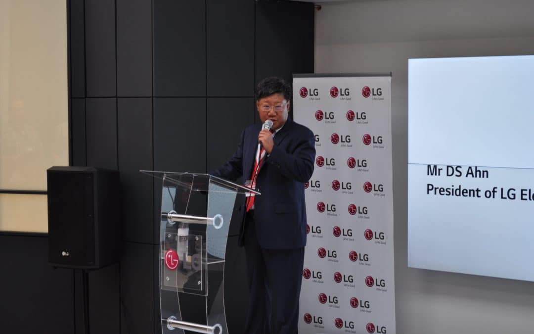 LG shows commitment to SA with head office and factory relocation