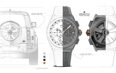 Land Rover and Zenith create 'Defy 21 Edition' watch to celebrate New Defender
