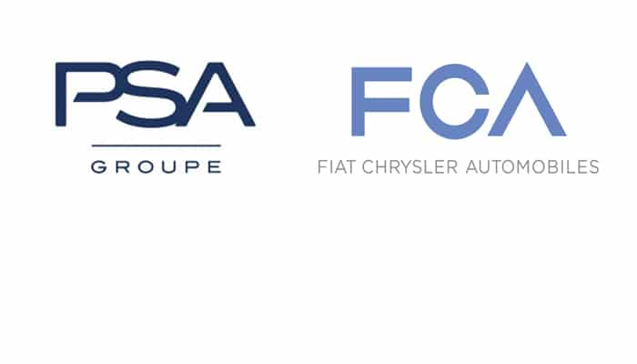 Groupe PSA and FCA agree to merge