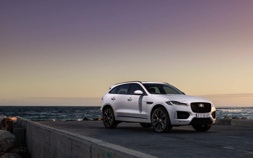 Special edition F-PACE Chequered Flag lands in South Africa