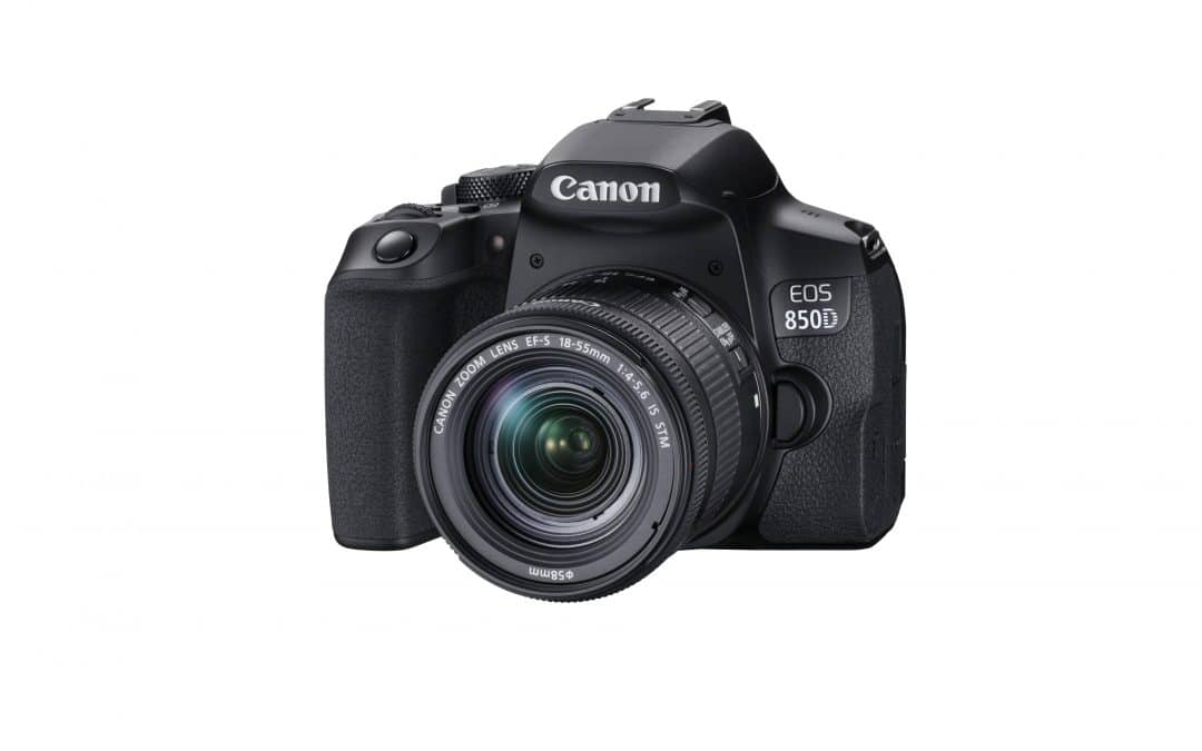 Upgrade your photography with the Canon EOS 850D, the perfect all-round DSLR camera Capture life's spontaneous moments with more creative control