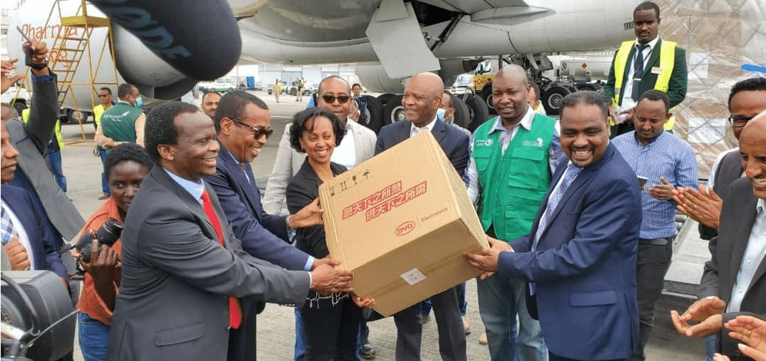 Jack Ma and Alibaba Foundations donate COVID-19 Medical Equipment to African Union Member States