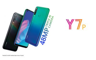 The five best features of the new HUAWEI Y7p