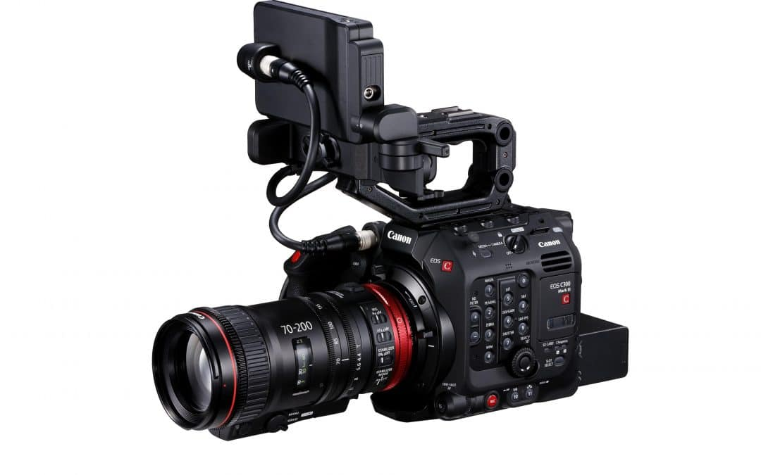 Canon strengthens its cinema offering with the EOS C300 Mark III – a next generation camera with innovative DGO sensor –– and a broadcast/ cinema hybrid CINE-SERVO lens