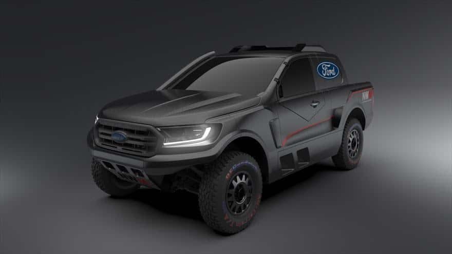 First FIA-class Ford Ranger, Powered by 3.5 EcoBoost V6, in Production for SA Cross Country Series