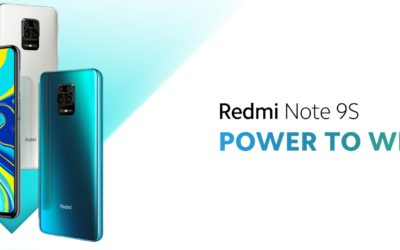 Introducing Redmi Note 9S: Power to Win