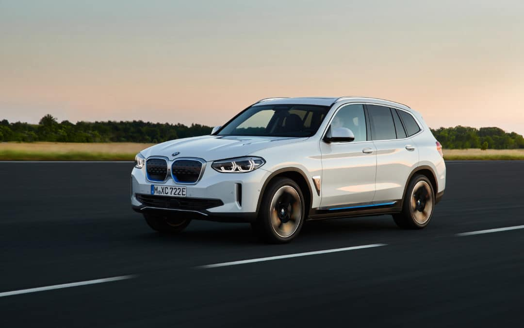 BMW unveils the first-ever BMW iX3