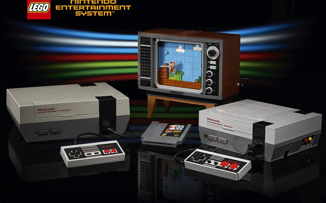 The LEGO Group introduces LEGO edition of classic Nintendo Entertainment System