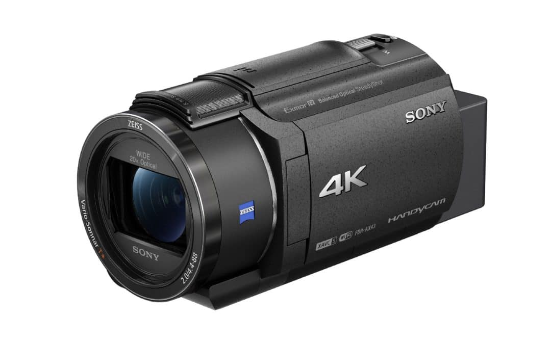 Sony Electronics launches New Compact 4K Handycam Camcorder with Advanced Image Stabilisation Technology