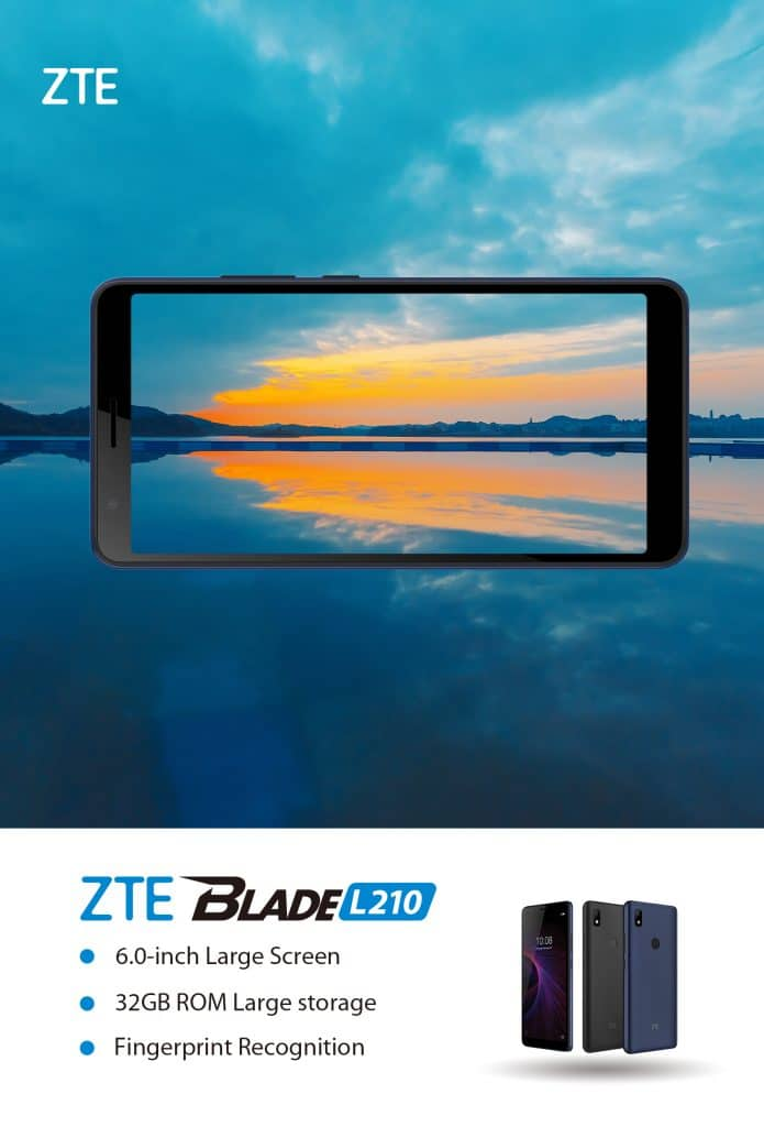 ZTE Blade L210, ZTE, affordable smartphone, entry-level smartphone, Android, Android smartphone,