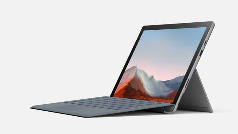 Microsoft, Microsoft Surface range, 2-in-1 laptop, laptop, notebook PC, PC, computer, Microsoft Surface Pro 7